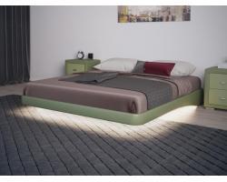 Кровать Орматек Парящее основание (экокожа комфорт)