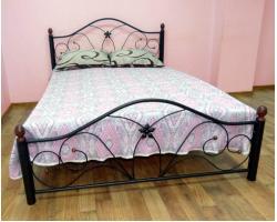 Кровать Rollmatratze Селена-2, черная